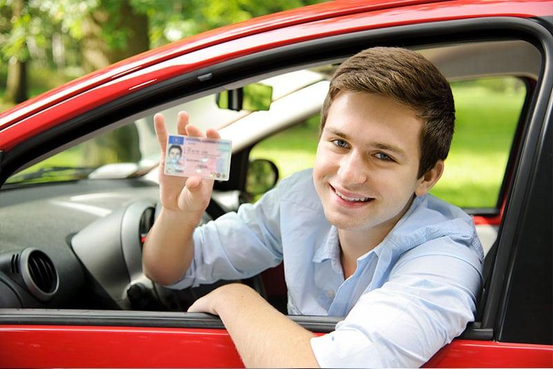 רשיון נהיגה לרכב פרטי