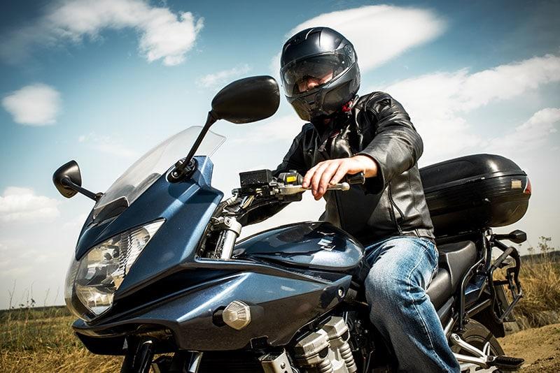 רשיון נהיגה על אופנוע